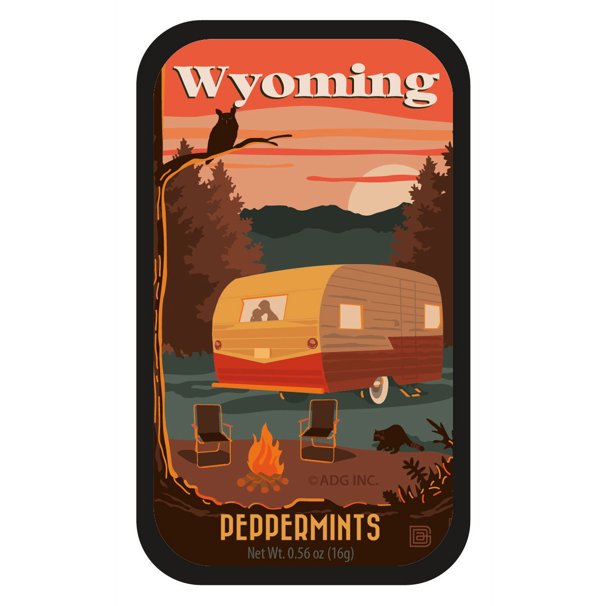 Camping Wyoming - 0931A