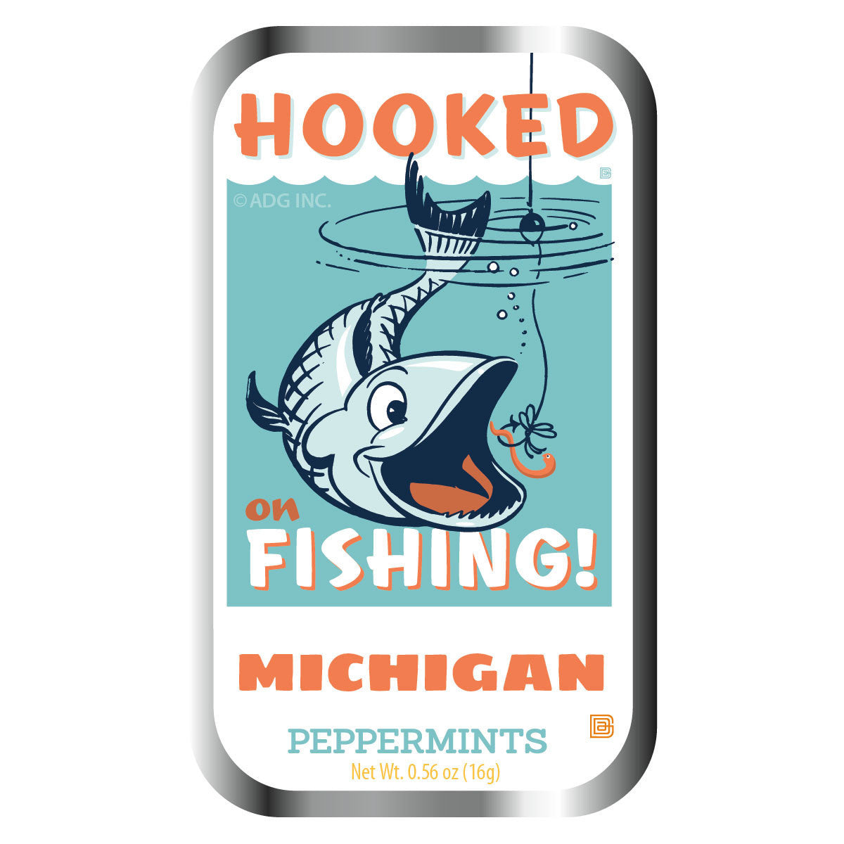 Hooked on Fishing Michigan - 0933A