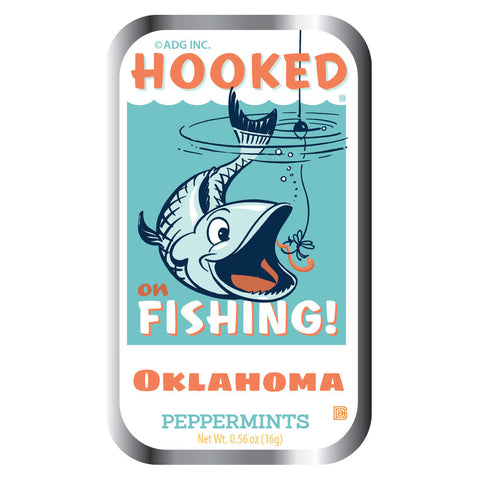 Hooked on Fishing Oklahoma - 0933A