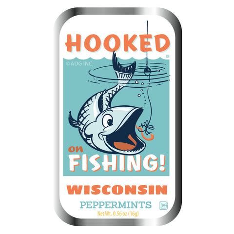 Hooked on Fishing Lake Wisconsin - 0933A