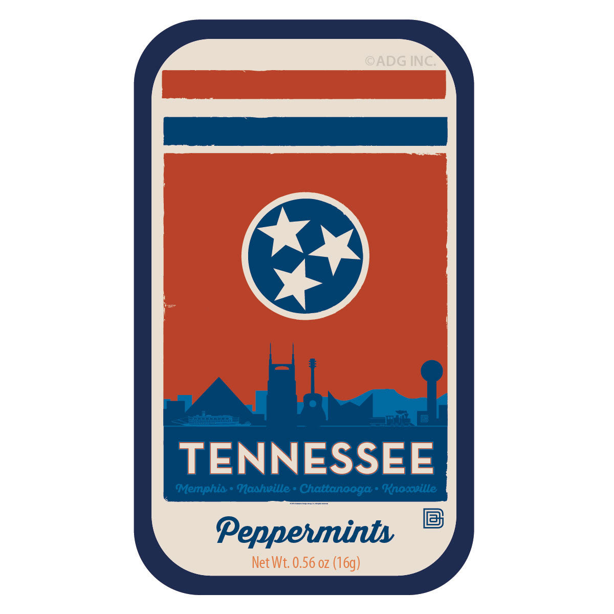 Tennessee Skyline Flag - 1052A