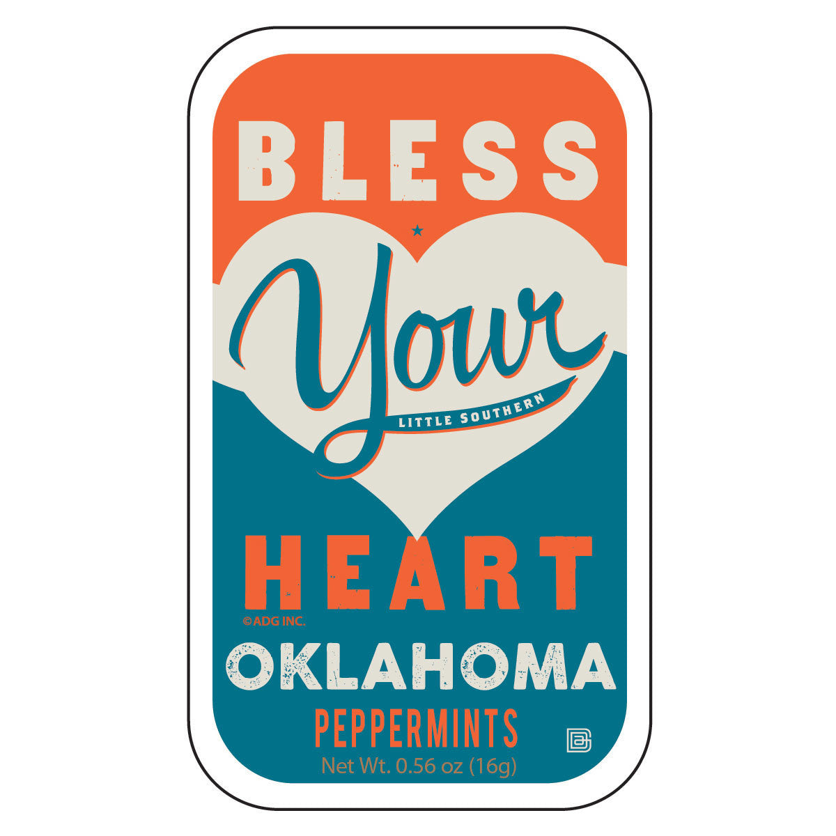 Bless Your Heart Oklahoma - 1055A
