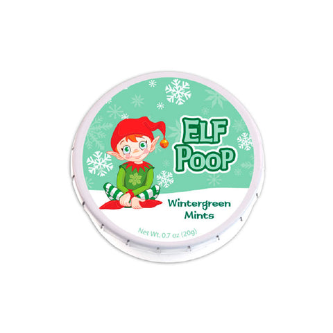 Elf Poop Clicker Mint Tin