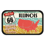 Route 66 Map Illinois - 1290S