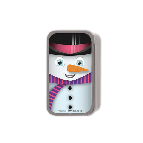 Big Snowman Slyder Tin
