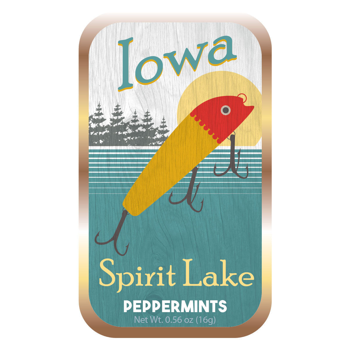 Fishing Lure Iowa - 1562S