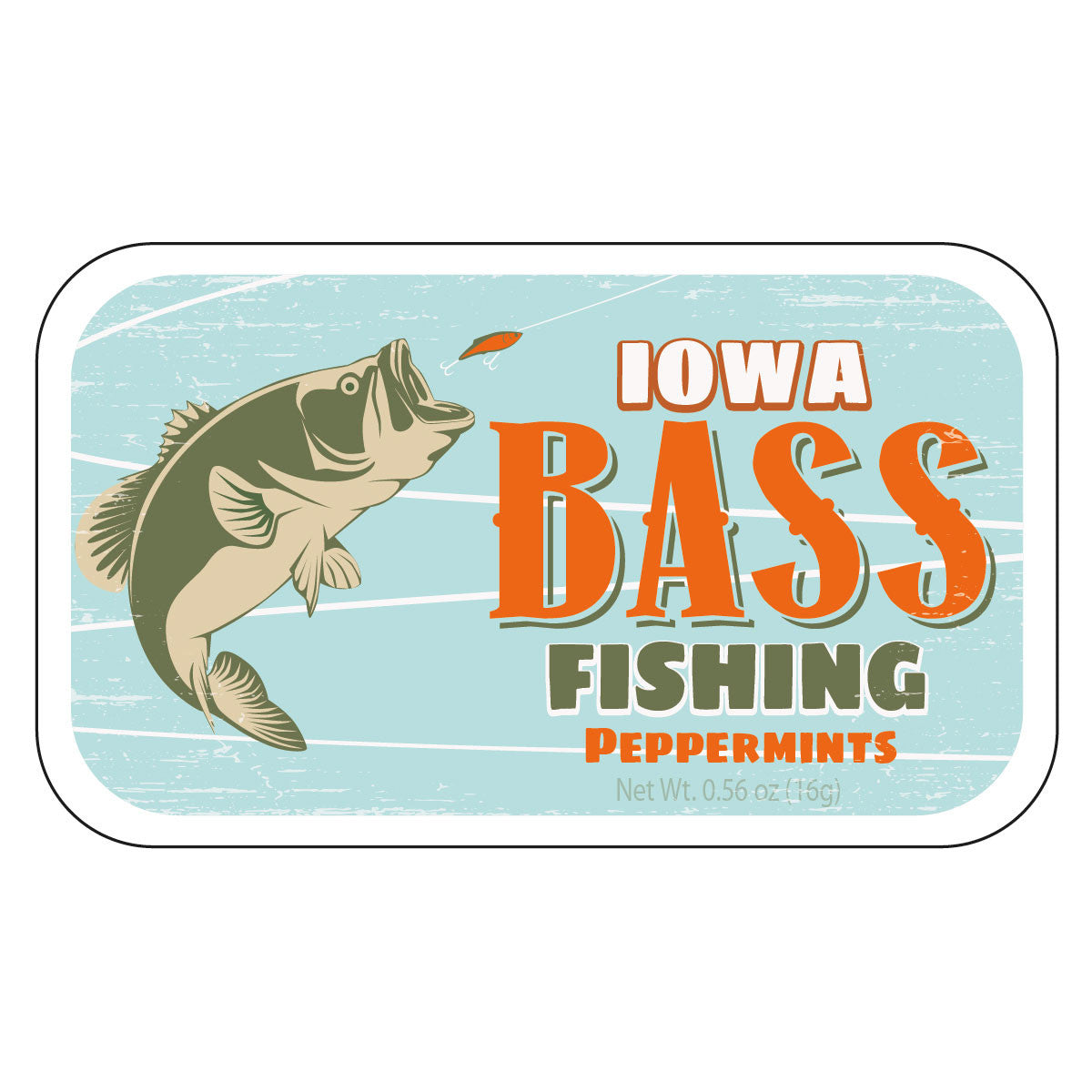 Bass Fishing Iowa - 1883S