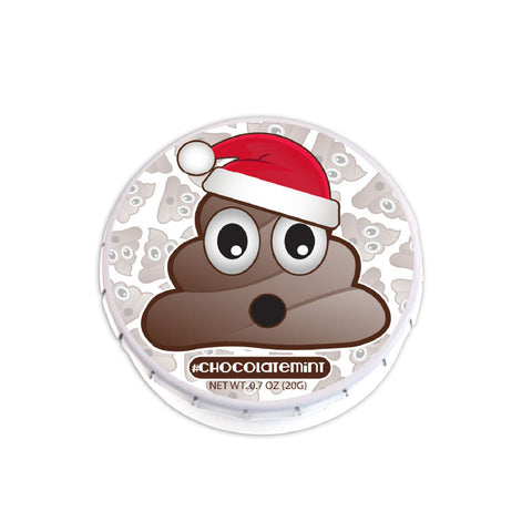 Poop Santa Clicker Mint Tin
