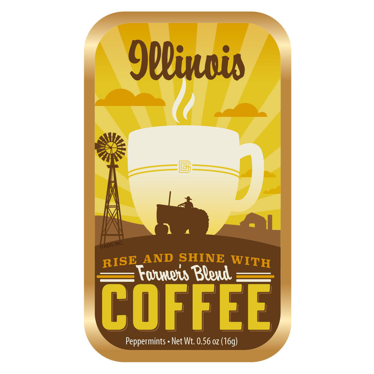 Farmland Coffee Illinois - 1650A