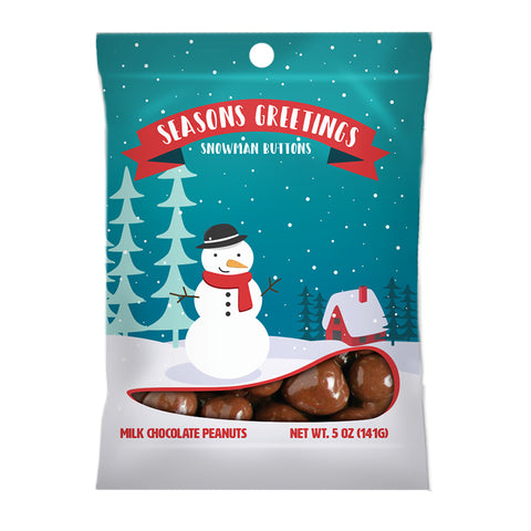 Season's Greetings Snowman - 5oz. Digi Bag