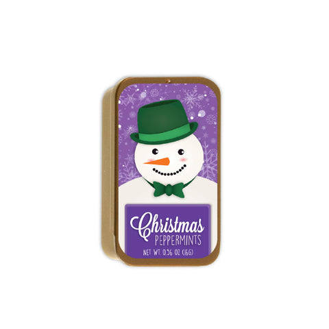 Friendly Snowman Slyder Tin