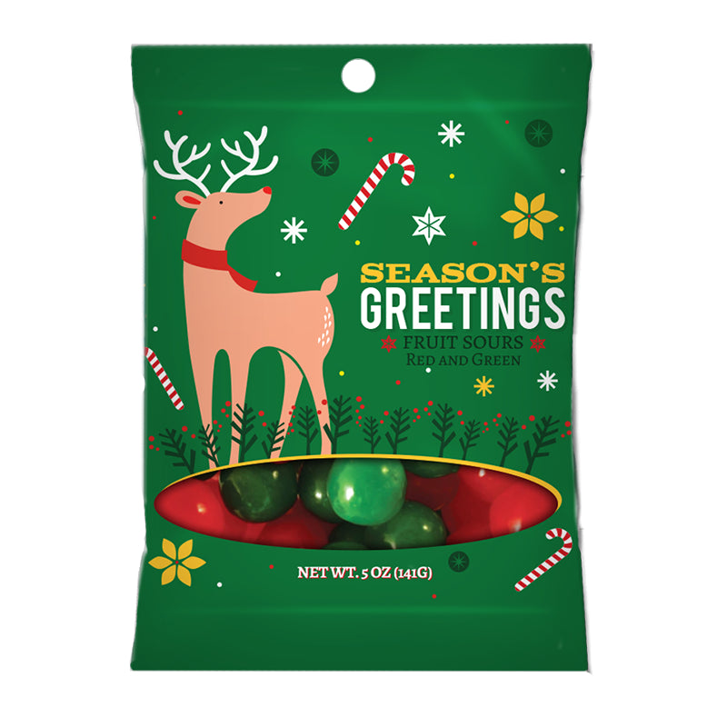Season's Greetings Deer - 5oz. Digi Bag