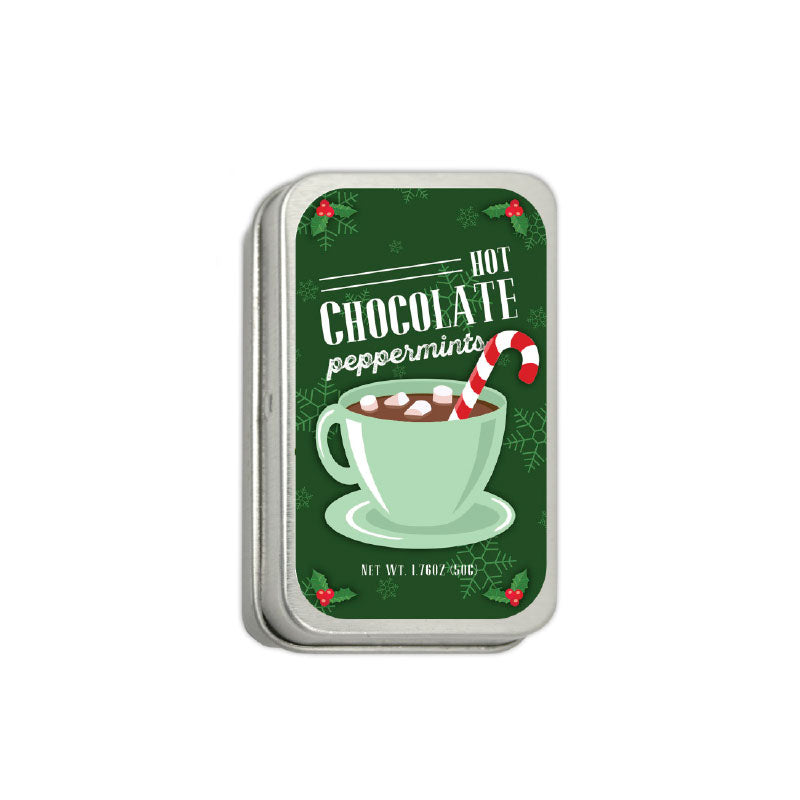 Hot Chocolate Large Mint Tin