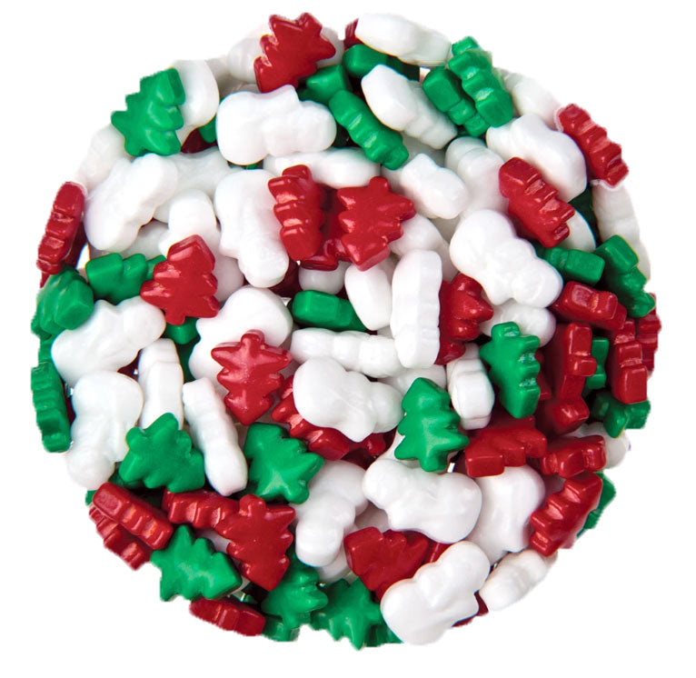 Clever Candy Frosty's Forest Dextrose Christmas Mix