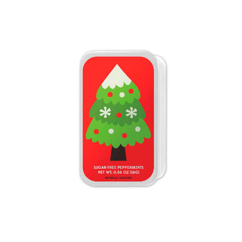 Minimalist Christmas Tree Slyder Tin