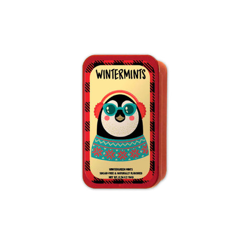Hipster Penguin Sunglasses Slyder Tin