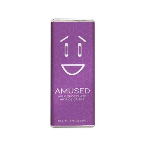 Amused Milk Chocolate with Rice Crisps