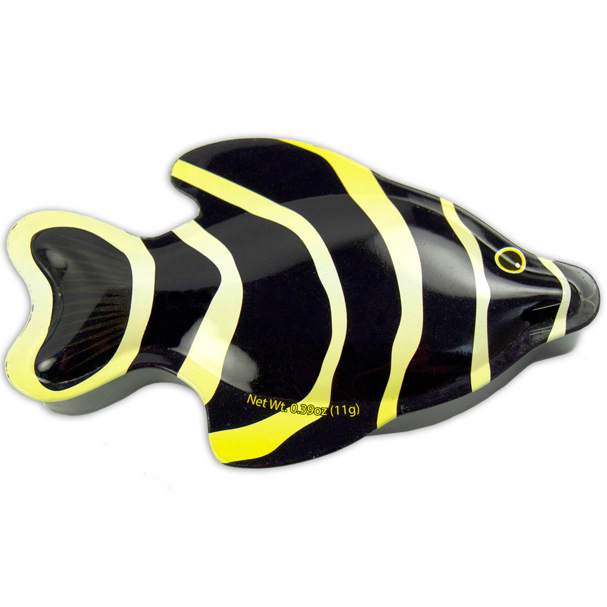 Black Angel Fish Shaped Tin - MTR5020F