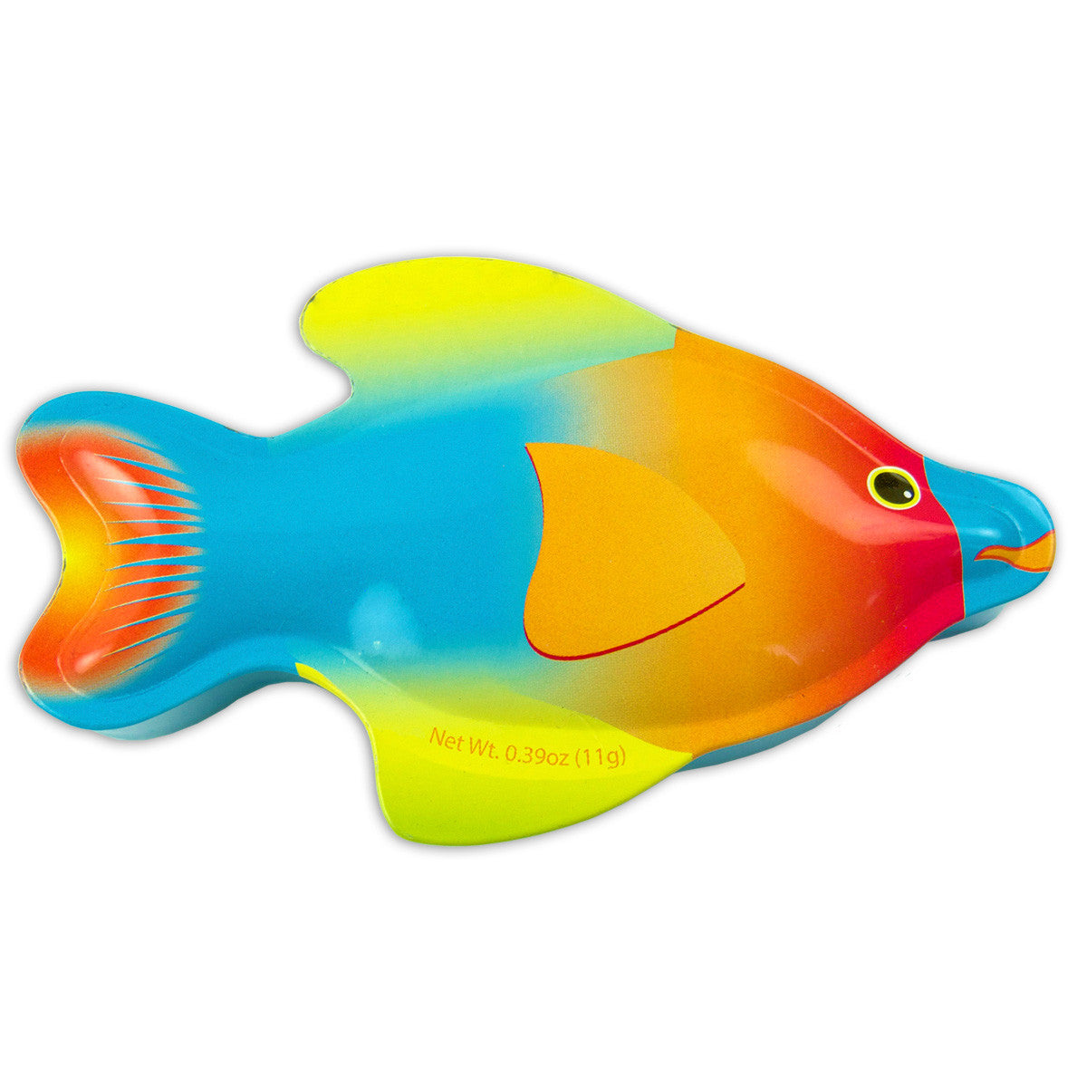 Orange Angel Fish Shaped Tin - MTR5022F