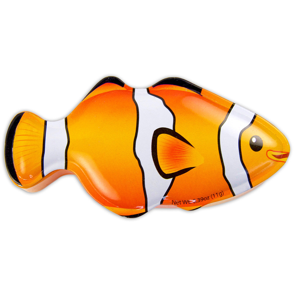 Orange Clown Fish Shaped Tin - MTR5008F
