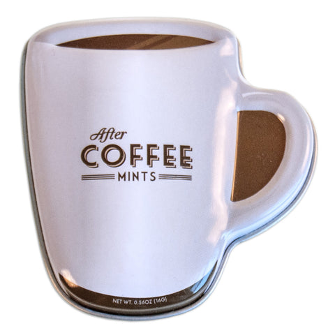 Coffee Mug Shaped Tin - MTR5075F
