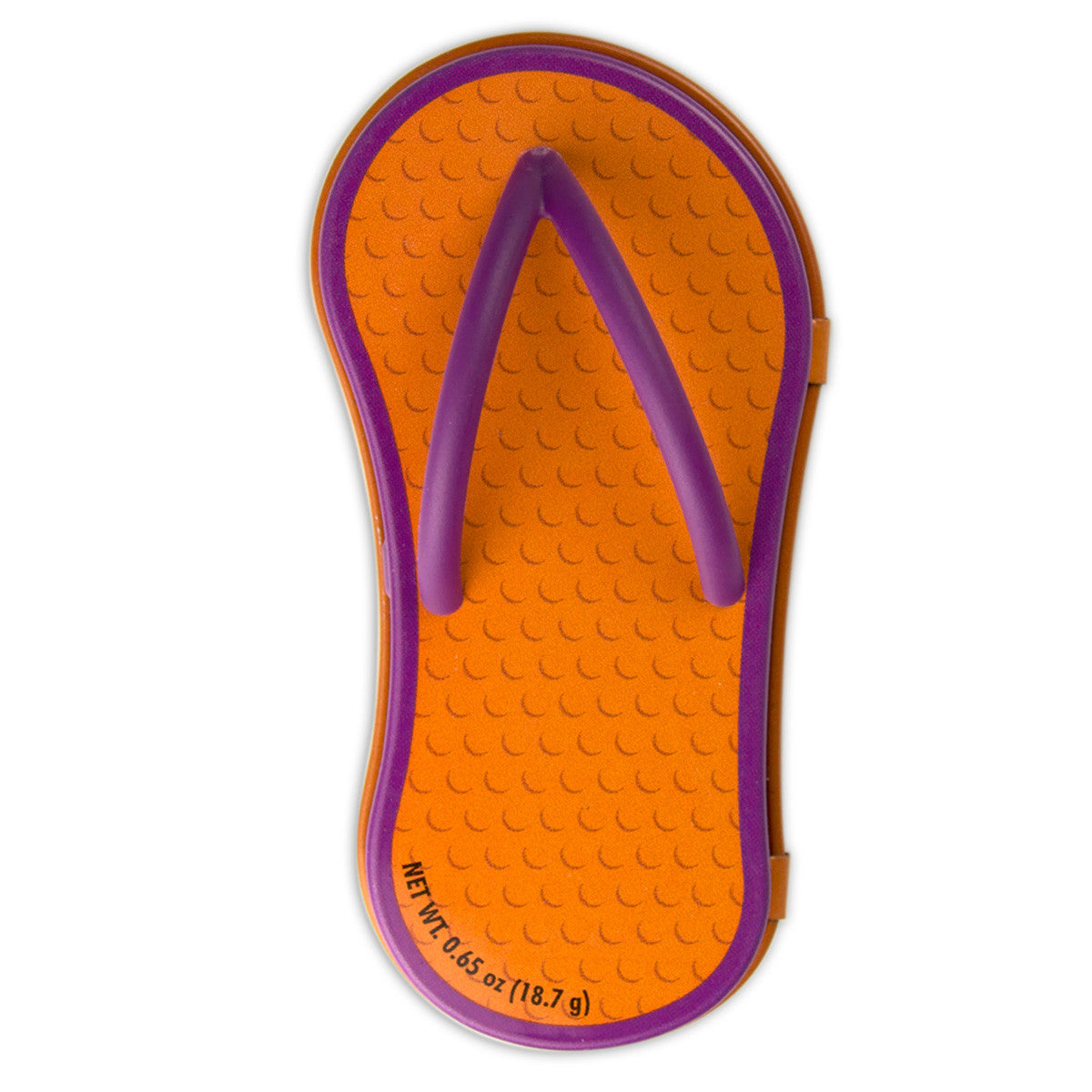 Orange Flip Flop Shaped Tin - MTR4048F