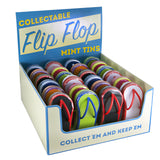 White Flip Flop Shaped Tin - MTR4058F