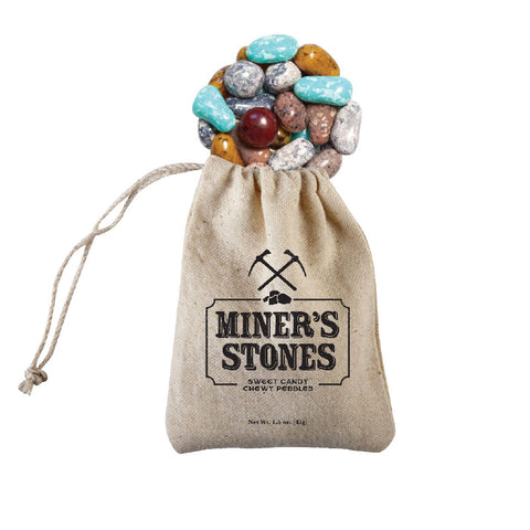 Gold Mine Bag with Sweet Chewy Pebbles