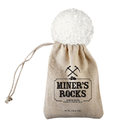 Gold Mine Bag with Candy Crystals