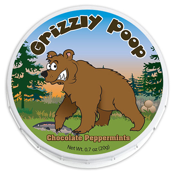 Grizzly Poop Mints - 0777P
