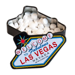 Las Vegas Shaped Tin - MTR5090F