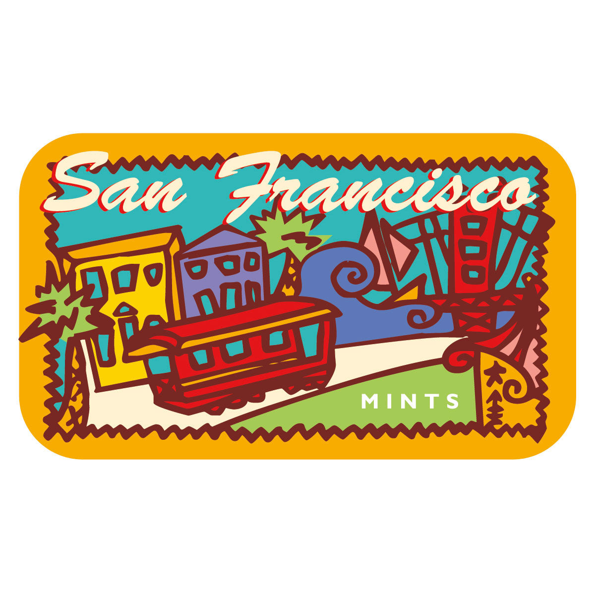 San Francisco Trolly - MTR1024F