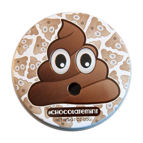 Emojy Poop Shaped Tin - MTR8001F