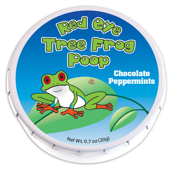 Red Eye Tree Frog Poop Mints - 0856P