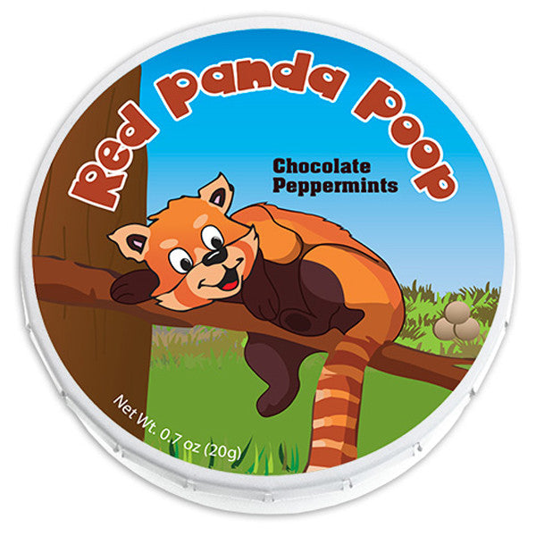 Red Panda Poop Mints - 0857P