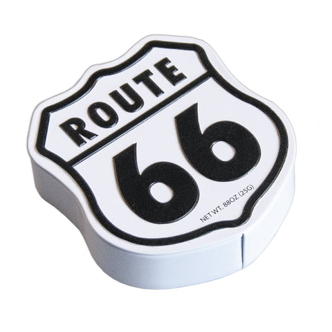 Route 66 Shaped Tin - MTR5095F
