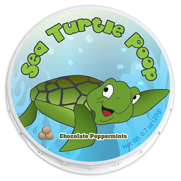 Sea Turtle Poop Mints - 0860P