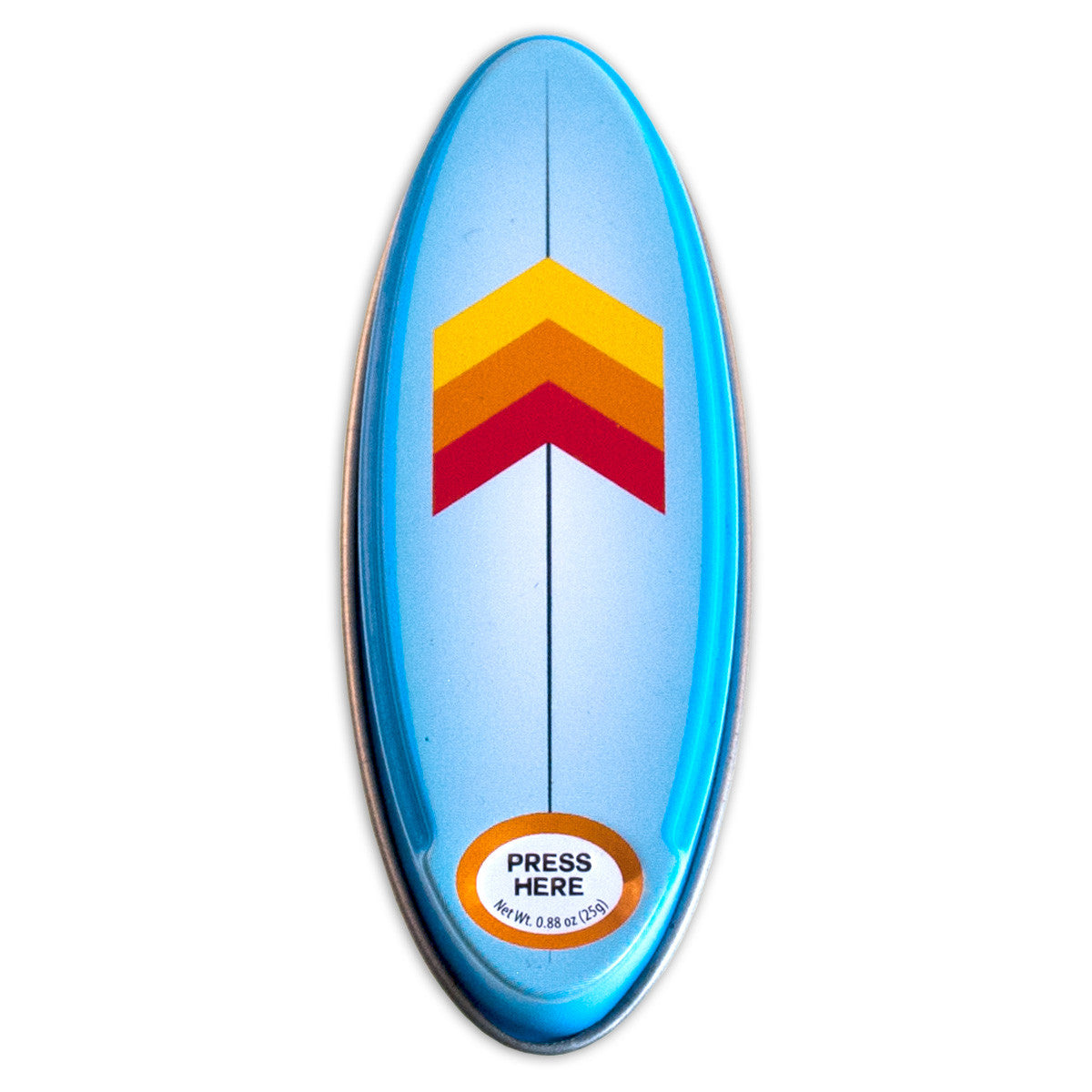 Surfboard Arrow Shaped Tin - MTR5050F