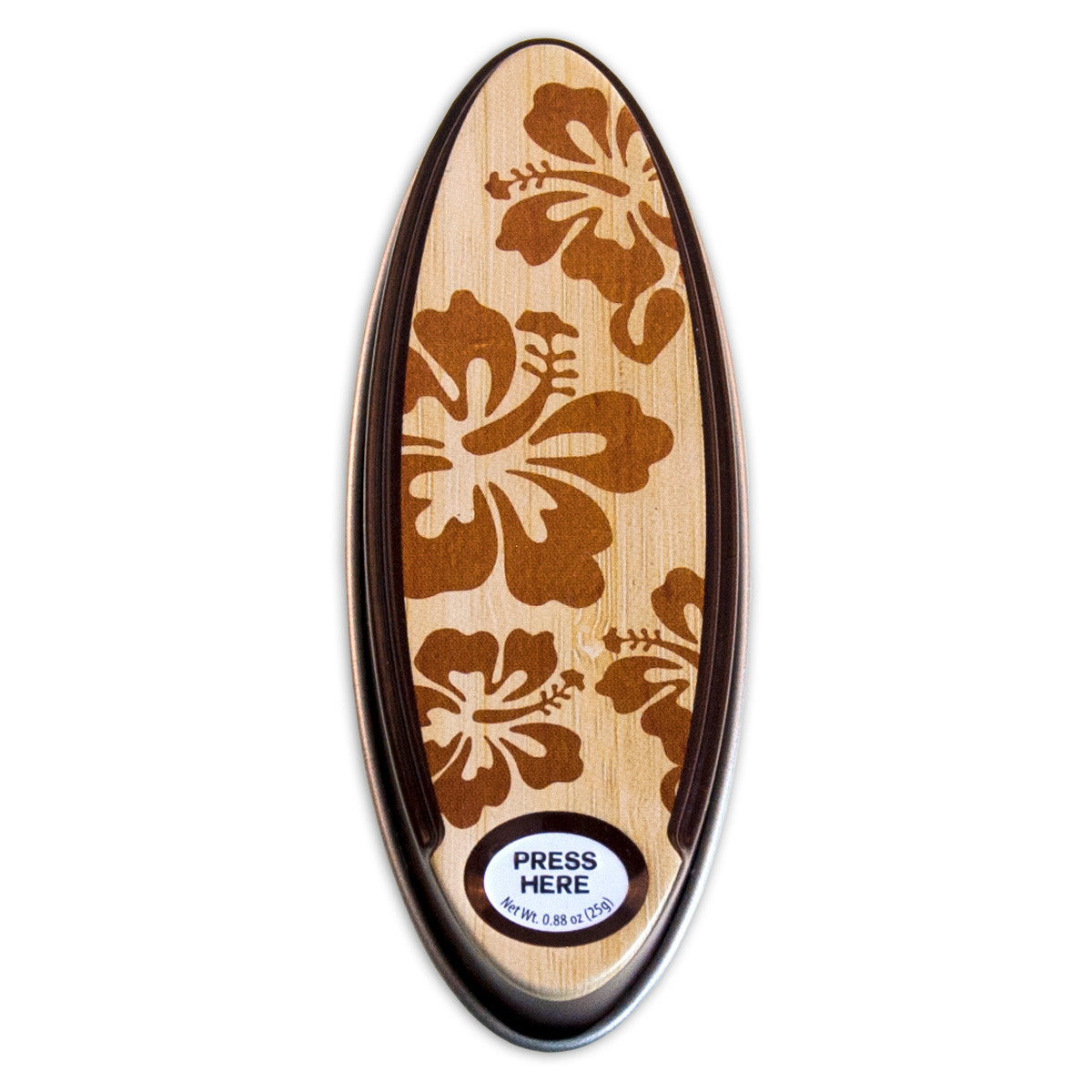 Surfboard WB Hibiscus Shaped Tin - MTR5053F