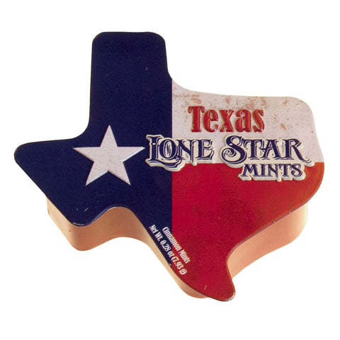 Texas Shaped Tin - MTR5027F
