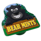 Black Bear Shaped Tin - MTR5028F