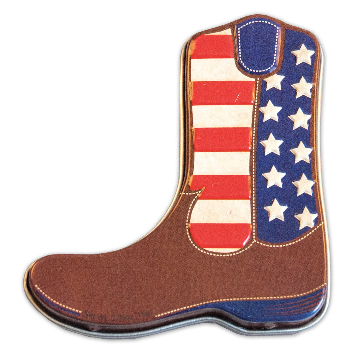 American Cowboy Boot Shaped Tin - MTR5029F