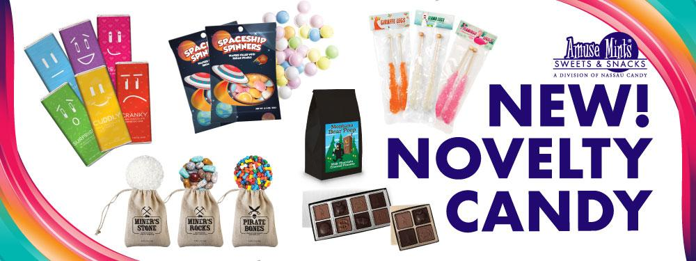 AmuseMints Sweets and Snacks - USA-Made Mints, Molded Chocolate, Specialty Confections, Custom Printed Tins, Boxes and Bags.