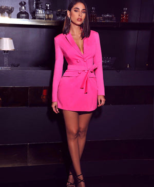 Pink Everything Blazer Dress