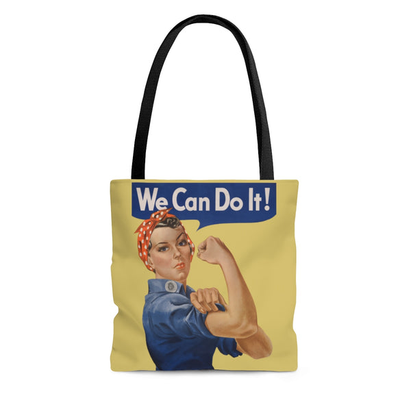 Rosie the Riveter Poly Tote Bag -- We Can Do It! - Biblioriot