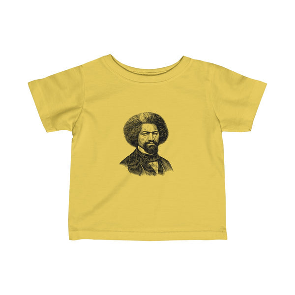 Frederick Douglass Baby and Toddler T-Shirt - Biblioriot