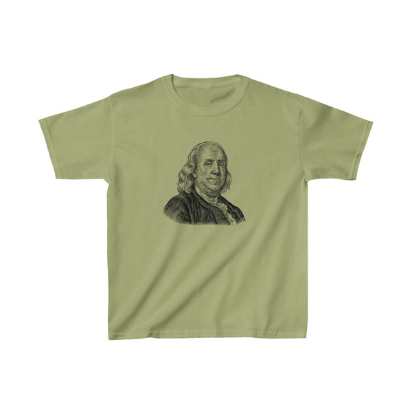 Benjamin Franklin Kids T-Shirt - Biblioriot