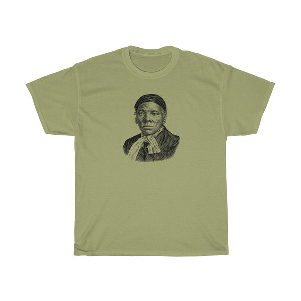 Harriet Tubman Heavy Cotton T-Shirt - Biblioriot