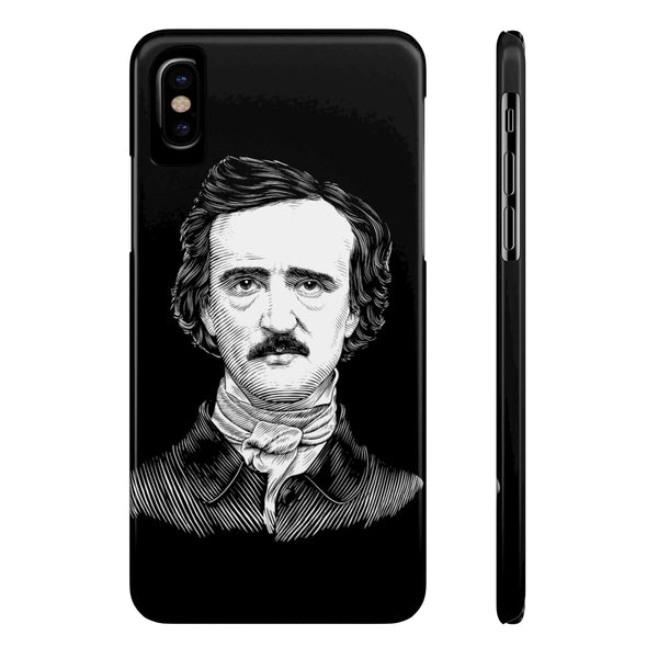 Edgar Allan Poe Case Mate Slim Phone Case - Biblioriot