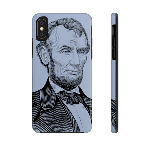 Abraham Lincoln Case Mate Tough Phone Case (Emancipation Blue) - Biblioriot